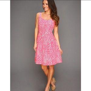 Lilly Pulitzer Posey Silk Dress Splash Pink Size 6